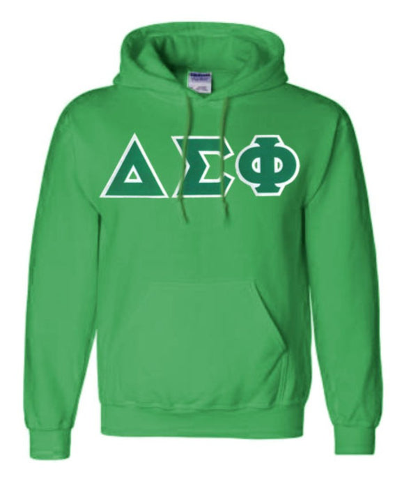 Delta Sigma Phi Lettered Hoodie