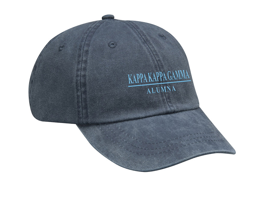 Kappa Kappa Gamma Line Year Embroidered Hat