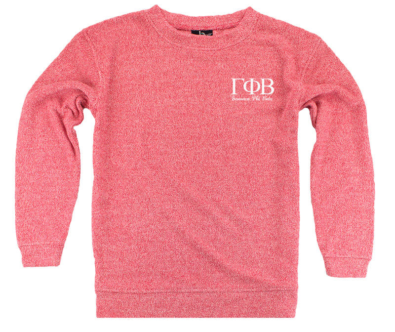 Gamma Phi Beta Lettered Cozy Sweater