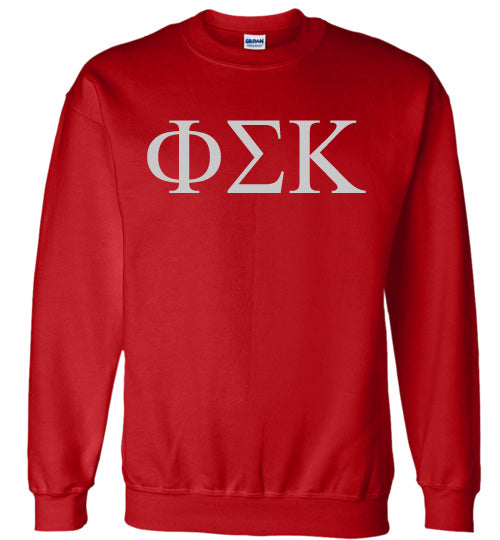 Phi Sigma Kappa World Famous Lettered Crewneck Sweatshirt