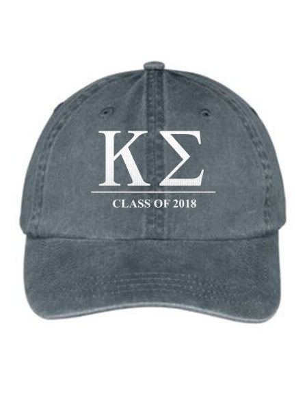 Kappa Sigma Embroidered Hat with Custom Text