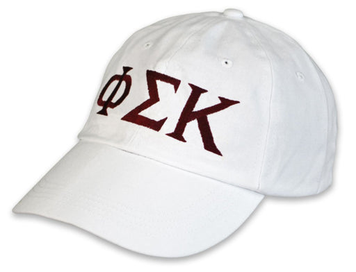 Phi Sigma Kappa Greek Letter Embroidered Hat