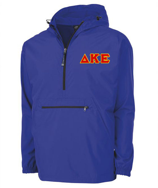 Delta Kappa Epsilon Embroidered Pack and Go Pullover