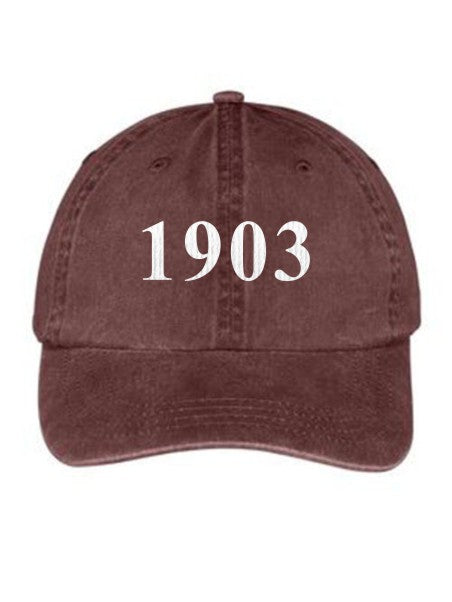 Sigma Alpha Iota Year Established Embroidered Hat