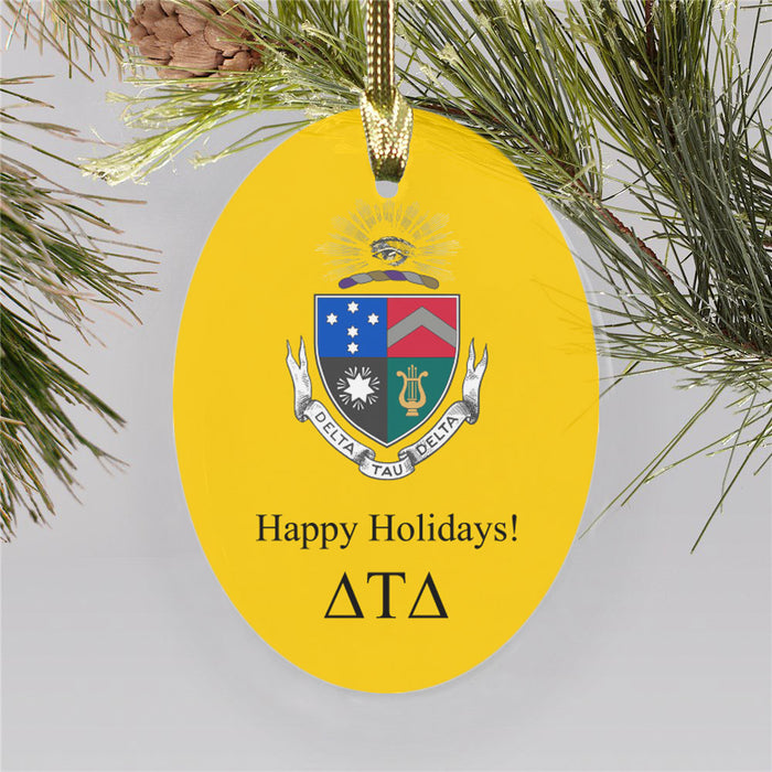 Delta Tau Delta Color Crest Ornament