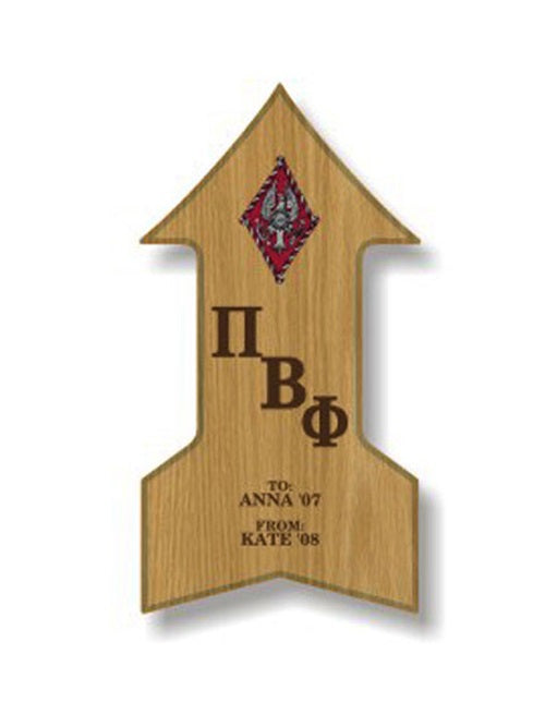 Pi Beta Phi Sorority Plaque