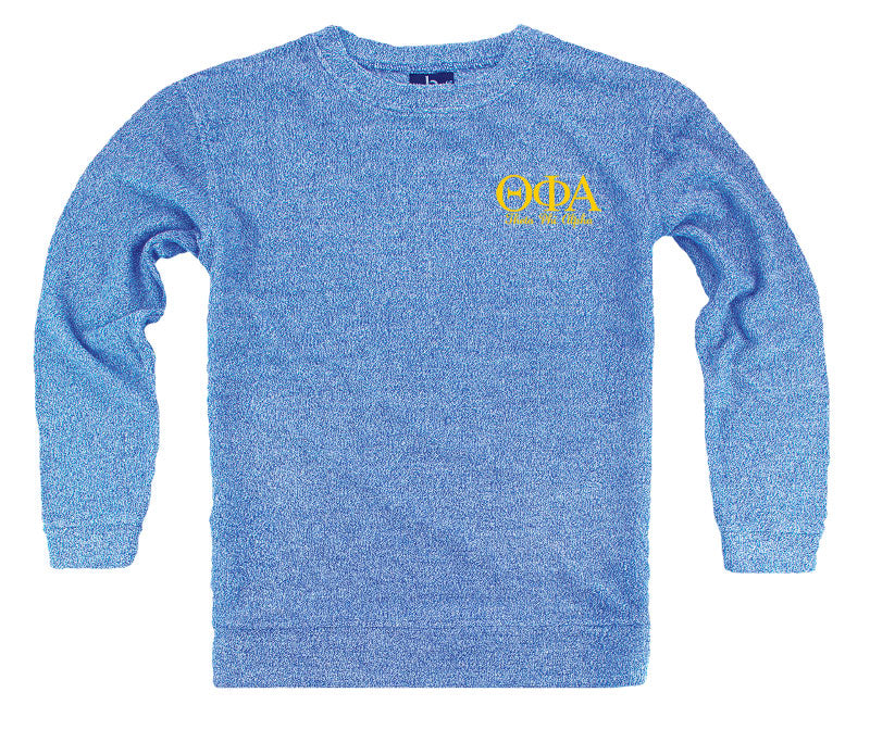 Theta Phi Alpha Lettered Cozy Sweater
