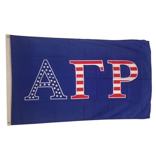 Alpha Gamma Rho Patriotic Flag