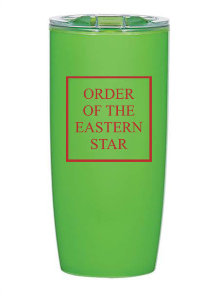Order Of The Eastern Star Box Stacked 19 oz Everest Tumbler