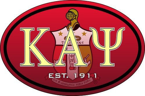 Kappa Alpha Psi Color Oval Decal