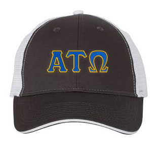 Alpha Tau Omega Greek Trucker Cap