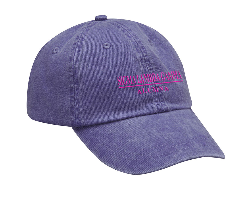 Sigma Lambda Gamma Custom Embroidered Hat