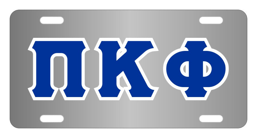 Pi Kappa Phi Fraternity License Plate Cover