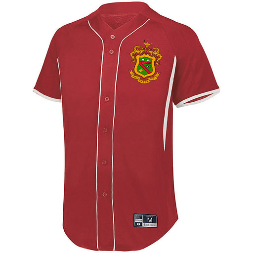 Phi Kappa Psi 7 Full Button Baseball Jersey