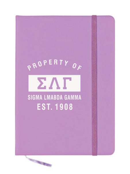 Sigma Lambda Gamma Property of Notebook