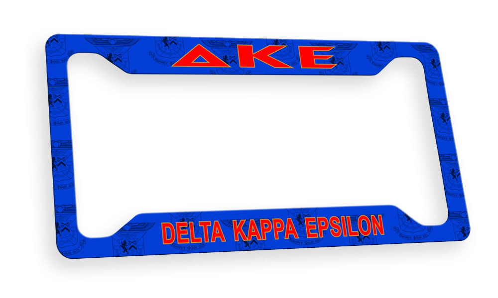 Delta Kappa Epsilon New License Plate Frame