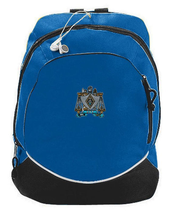 Zeta Beta Tau Crest Backpack