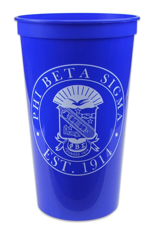 Phi Beta Sigma Big Plastic Cup