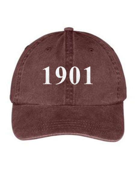 Alpha Sigma Alpha Year Established Embroidered Hat