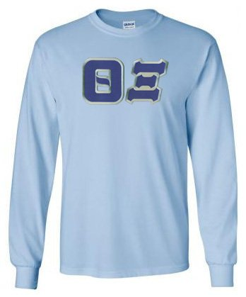 Theta Xi Long Sleeve Greek Lettered Tee