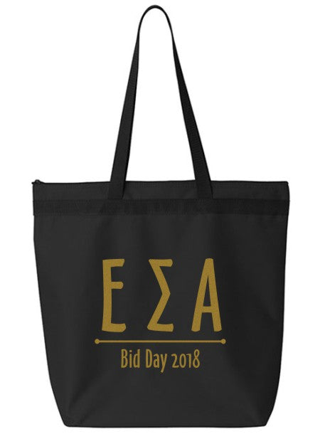 Epsilon Sigma Alpha Oz Letters Event Tote Bag