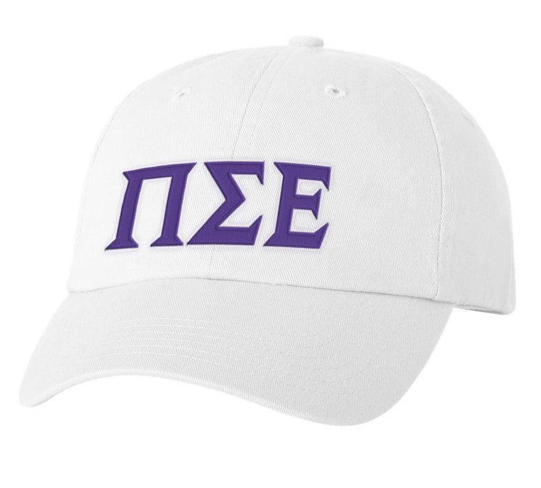 Phi Sigma Epsilon Greek Letter Embroidered Hat