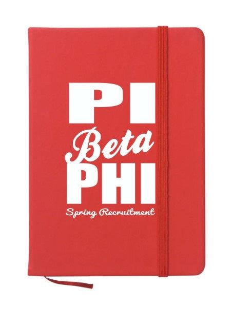 Pi Beta Phi Cursive Impact Notebook