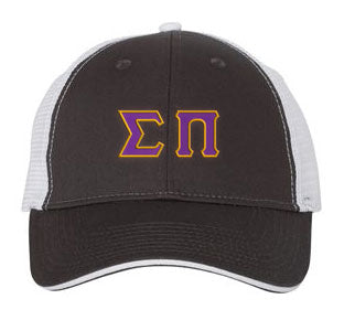 Sigma Pi Greek Trucker Cap