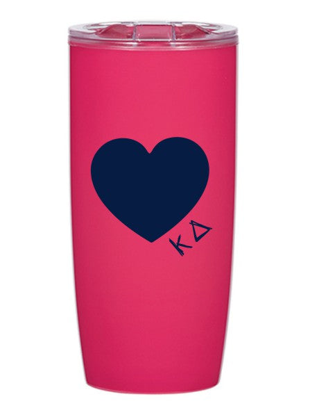 Kappa Delta Heart 19 oz Everest Tumbler