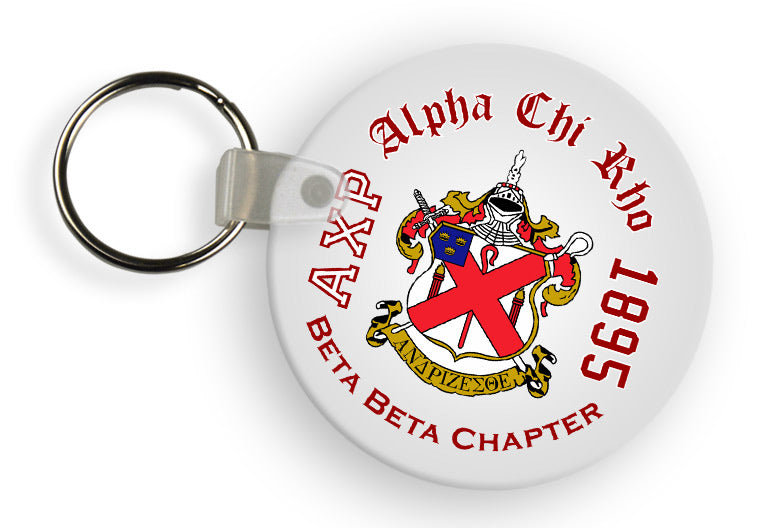 Alpha Chi Rho Color Keychain