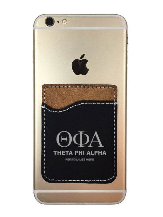 Theta Phi Alpha Engraved Phone Wallet