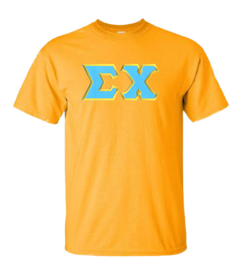Sigma Chi Lettered T Shirt