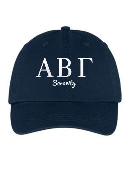 Sorority Collegiate Curves Hat
