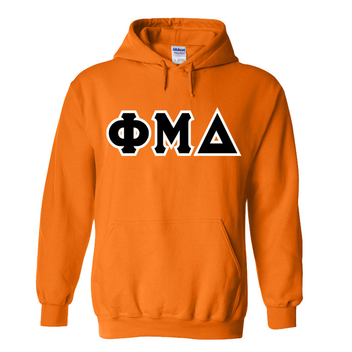 Phi Mu Delta Lettered Hoodie