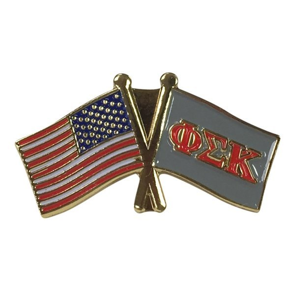Phi Sigma Kappa USA / Fraternity Flag Pin