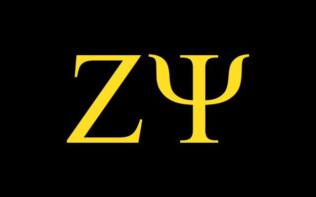 Zeta Psi Fraternity Flag Sticker