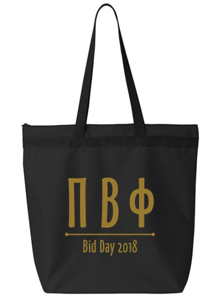 Pi Beta Phi Oz Letters Event Tote Bag