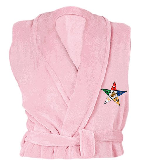 Order Of Eastern Star Bathrobe