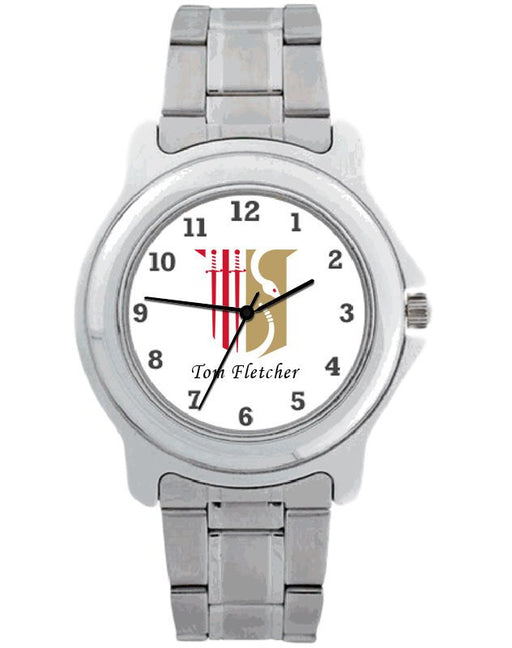 Theta Chi Steel Watch