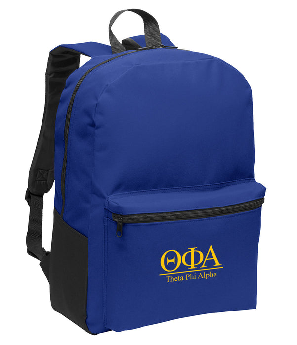 Theta Phi Alpha Collegiate Embroidered Backpack