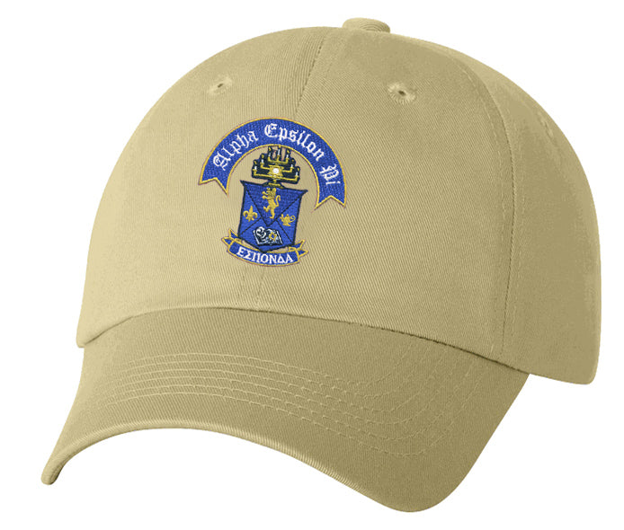 Alpha Epsilon Pi Crest Baseball Hat