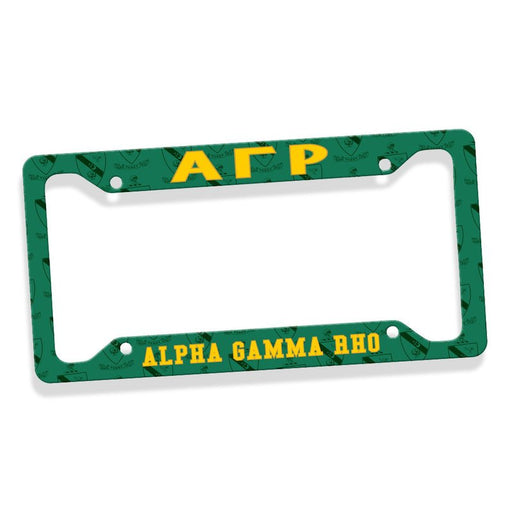 Alpha Gamma Rho New License Plate Frame