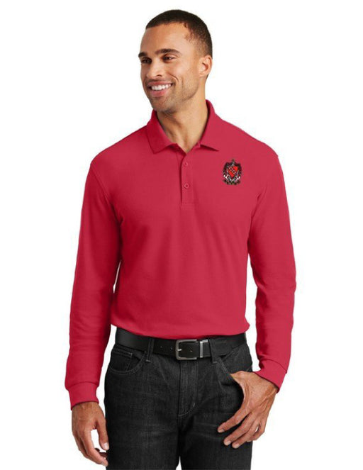 Tau Kappa Epsilon Long Sleeve Polo