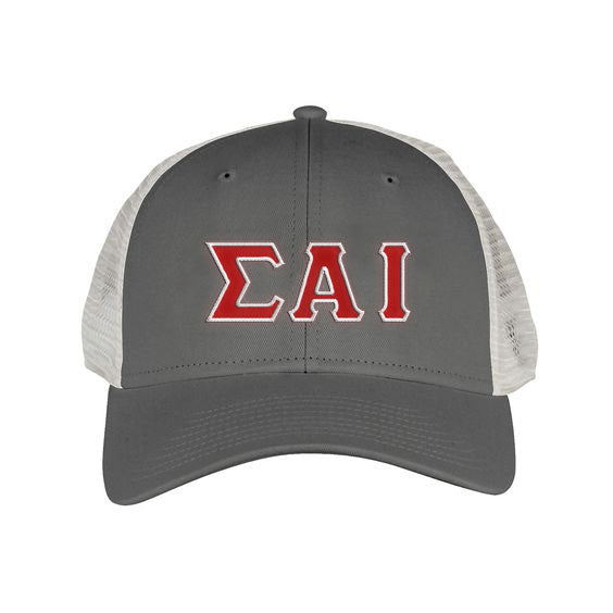 Sigma Alpha Iota Greek Trucker Cap