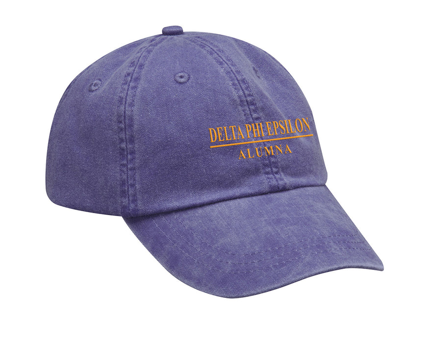 Delta Phi Epsilon Line Year Embroidered Hat