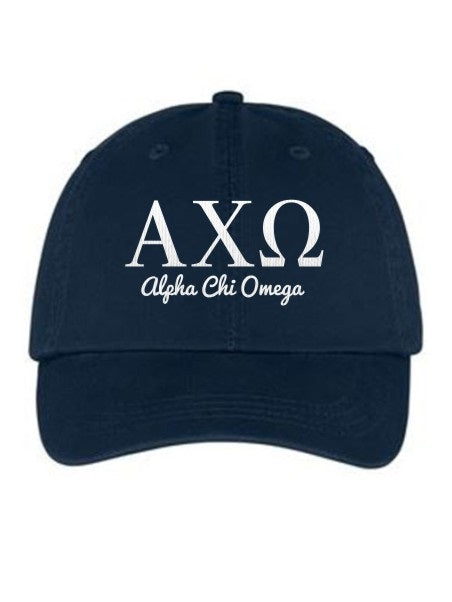 Alpha Chi Omega Collegiate Curves Hat