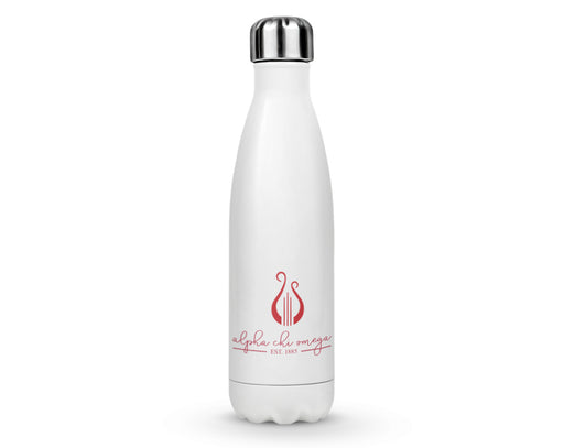Alpha Chi Omega Established Stainless Steel Water Bottle