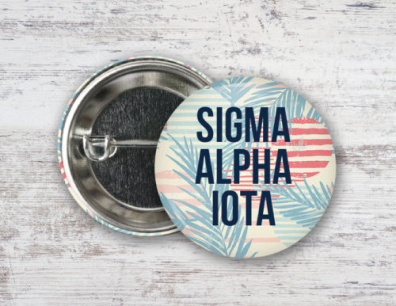 Sigma Alpha Iota Paradise Found Button