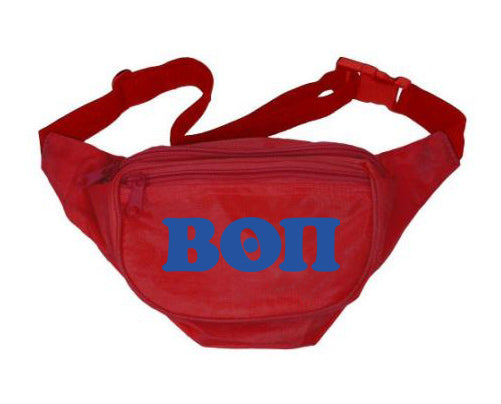 Beta Theta Pi Fanny Pack Letters Layered Fanny Pack