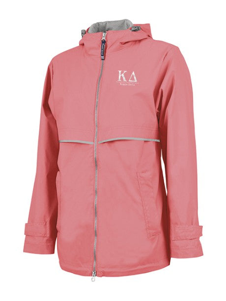 Kappa Delta Embroidered Ladies Northwest Slicker